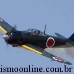 _BEL9171 A6M3 Zero N712Z cn3869 left front in flight l