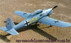 Aeromodelo Arado - Segunda Guerra Mundial - Warbirds