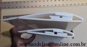 Asa de Aeromodelo Perfilada em Depron