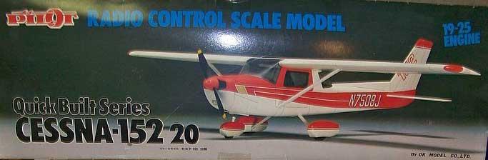 Aeromodelo Cessna 152