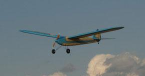 Aeromodelo Vintage Oldtimer Cumulus