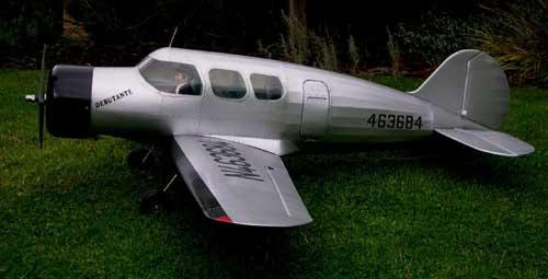 Aeromodelo Old Timer Debutante