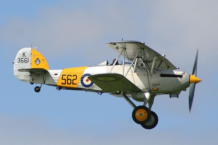 Aeromodelo hawker