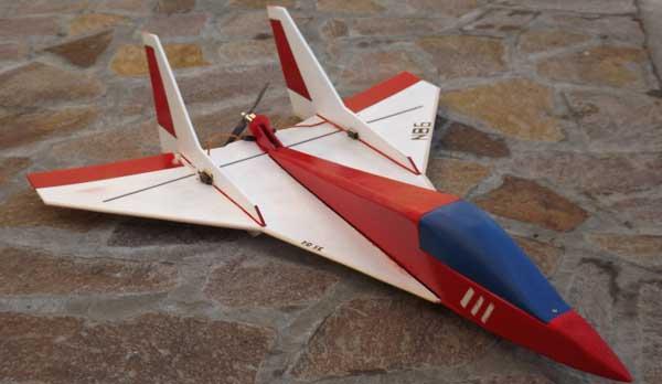 Aeromodelo HotSpot de velocidade do tipo asinha