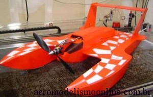 Aeromodelo/Aerobarco Hydro