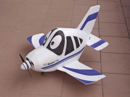 PA-28 Aeromodelo Cartoon