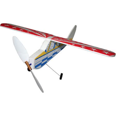 Aeromodelo de voo livre a elástico Peninha