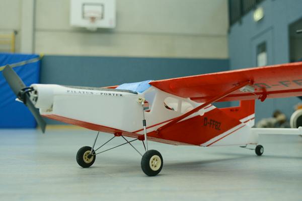 Aeromodelo Pilatus PC-6