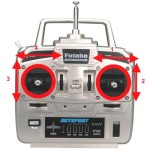 Controle para Aeromodelos (Radios, Transmissores)
