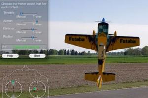 Simulador de Aeromodelo - Exemplo