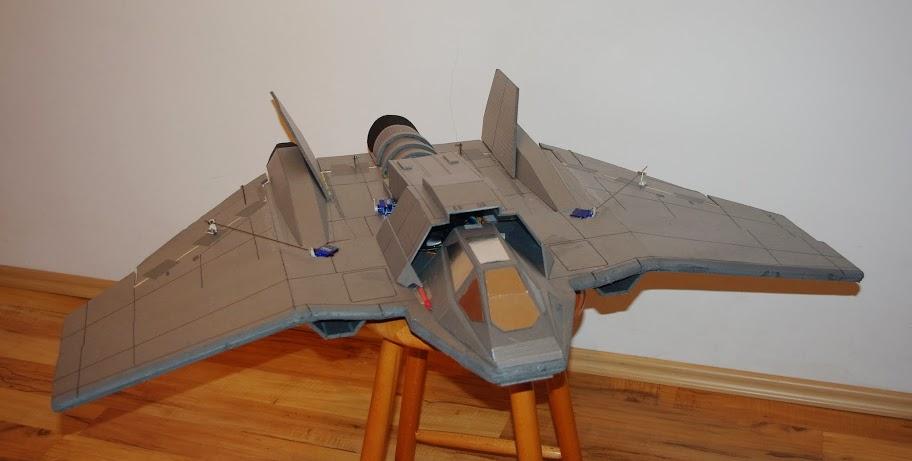 Aeromodelo em Depron - F-302 Tauri Stargate