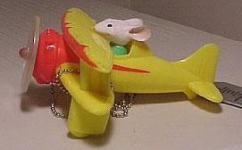 Aeromodelo do Stuart Little (chaveiro para referencia)
