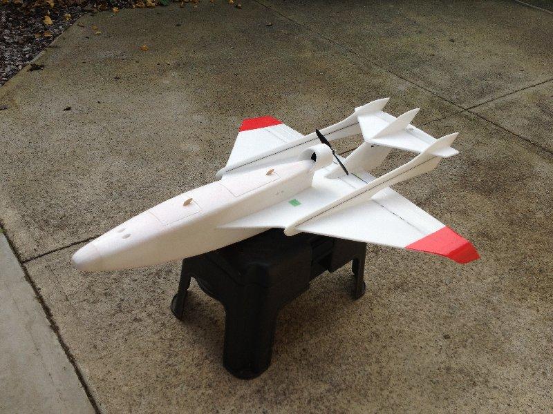 Aeromodelo Jato Vixen