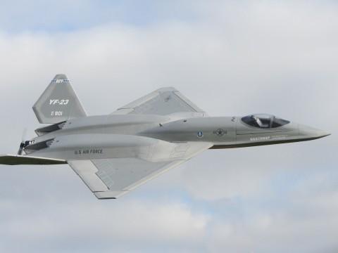 yf-23 grey ghost